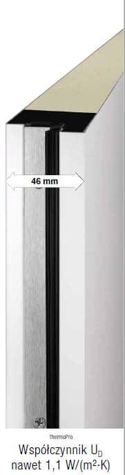 Drzwi ThermoPro - płyta drzwiowa