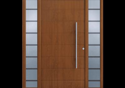 Drzwi z naświetlami