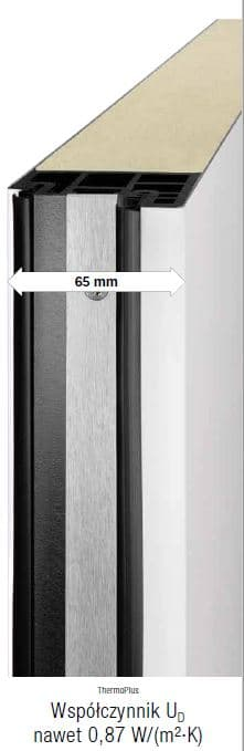 Drzwi ThermoPlus - płyta drzwiowa