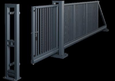 Brama przesuwna PI 130 - ręczna