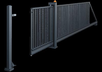 Brama przesuwna PI 95 - z napędem